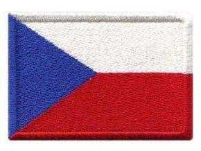 Nášivka Vlajka ČR 60x35 mm