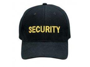 Čepice Security žlutá
